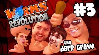 KNOW YOUR TRUE ENEMY (Worms Revolution w/ The Derp Crew / Facecam)