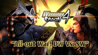 "Warriors Orochi 4 DLC Scenario Pack 2 ""All-out War! DW Vs. SW"""