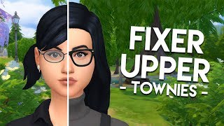 FIXING CASSANDRA GOTH // The Sims 4: Townie Makeovers