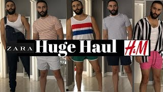 HUGE HAUL, ZARA and H&M Try-ON