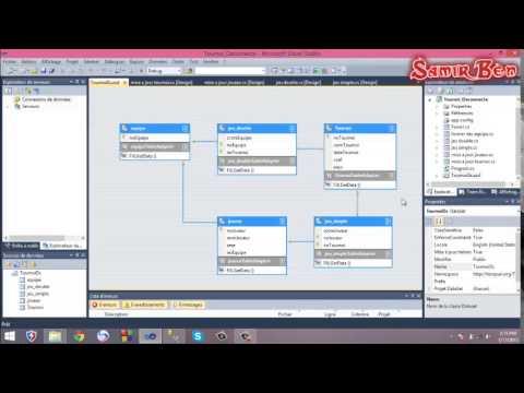 """Application Client-Server """"Tournoi de Tennis"""" en mode Déconnecté C# SamirBen"""