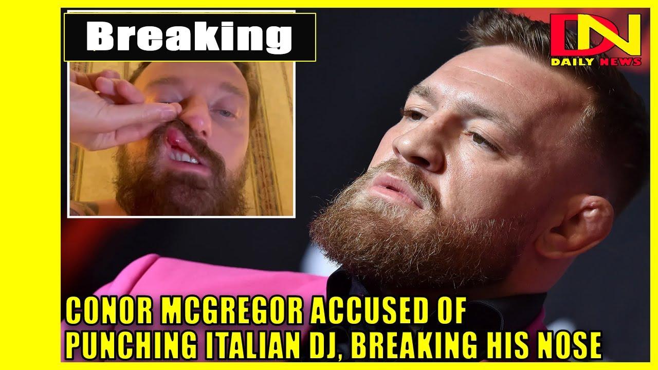 Morning Report: Italian DJ Francesco Facchinetti accuses Conor ...