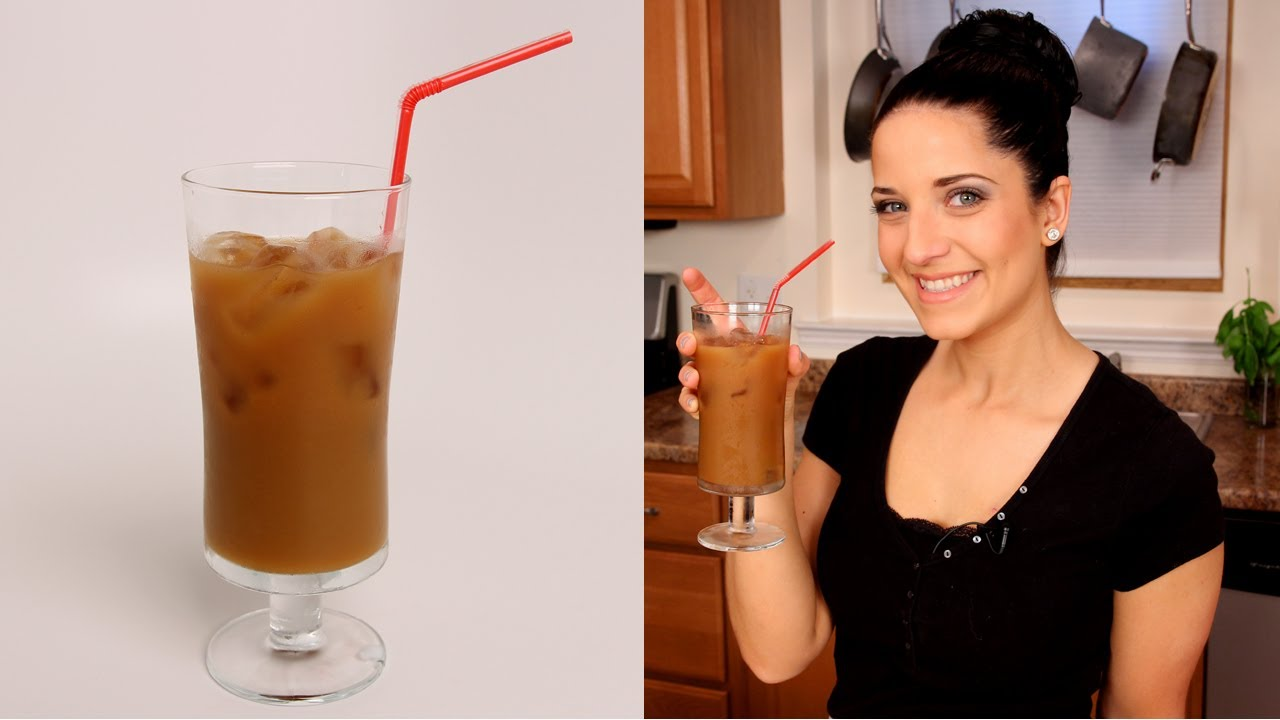 Homemade Iced Coffee - Laura Vitale - Laura in the Kitchen Episode ...