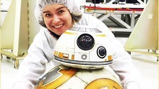 BB-8 visits the robots of Nasa | Star Wars | Disney