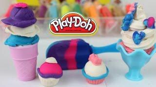 Pastilina Play-Doh- Postres Helados y Golosinas de Plastilina Play Doh| Mundo de Juguetes