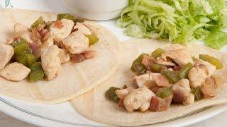Chicken Tacos (tacos De Pollo A La Parrilla) (med Diet Episode 49)