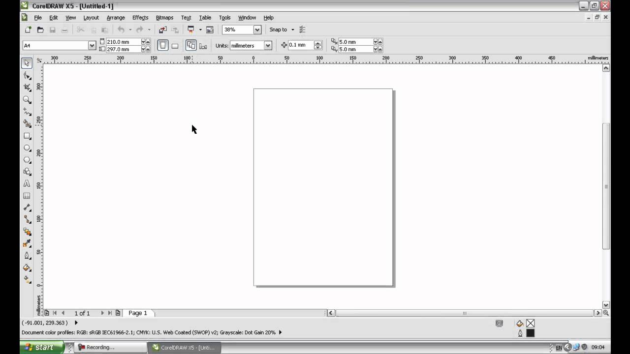 Creating artwork for a letterhead part 1 youtube creating artwork for a letterhead part 1 spiritdancerdesigns Images