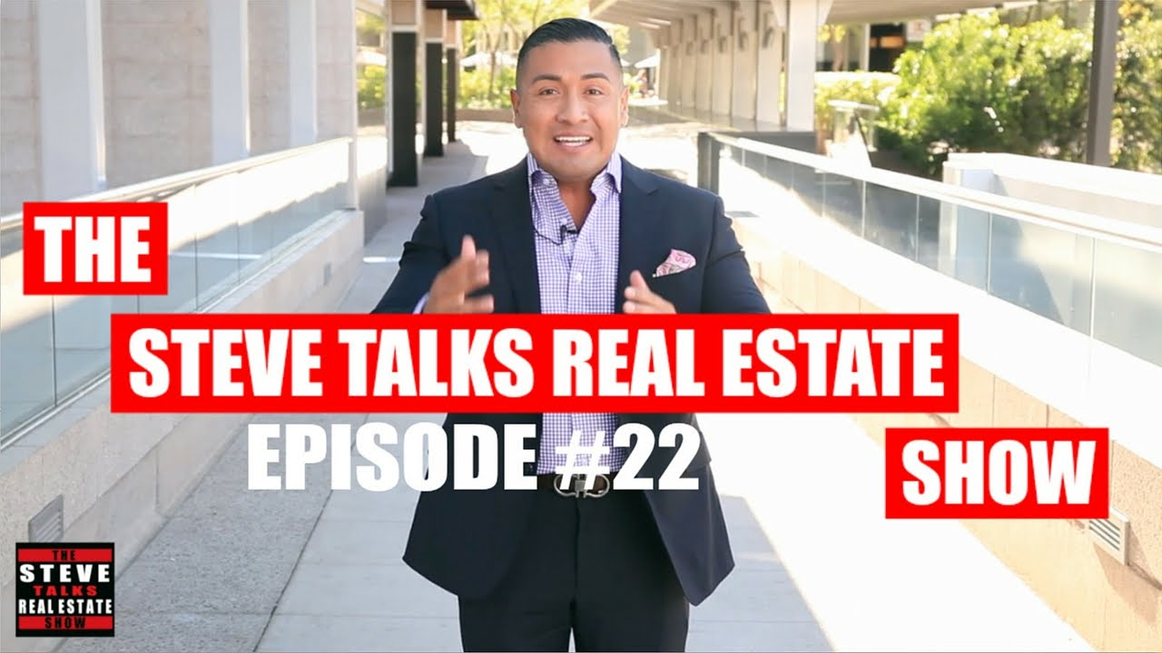 Improve Your Credit Score To Buy A House - The Steve Talks Real Estate Show Episode #22
