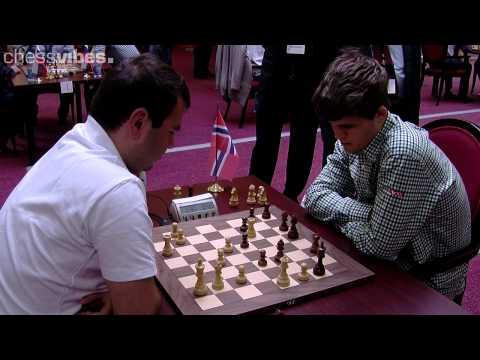 Mamedyarov-Carlsen, World Blitz Championship 2012