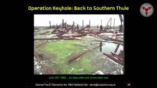 'Sentient Substance' X AKA - Black Goo - ETl Links to Falklands War, Marconi and More