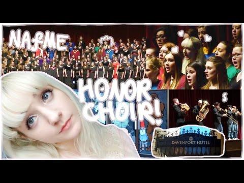 Vlog  I WAS IN HONOR CHOIR  NAfME AllNorthwest Choir 2015