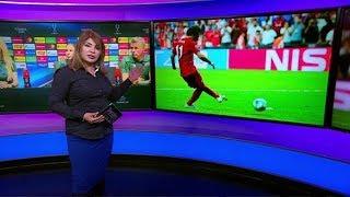 من هي السيدة التي خطفت الأضواء من #محمد_صلاح في نهائي #كأس_السوبر_الأوروبي؟