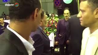 الزعيم عادل إمام في عزاء الدكتور رفعت السعيد