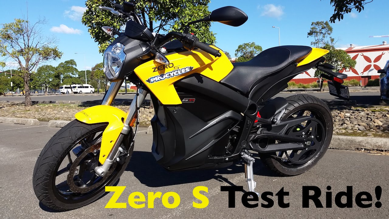 פנטסטי Zero S Electric Motorcycle Test Ride | Torque Monster! - YouTube ER-92