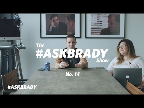 Announcement Slides, Daily Posting & Brady's Top 5 Books On Storytelling | #AskBrady Episode 14