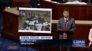 Rep. Ted Lieu plays audio from detention center on House floor (C-SPAN)