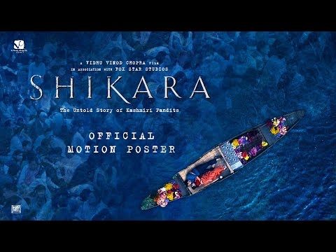 Shikara - Official Motion Poster | Vidhu Vinod Chopra | 7th February 2020