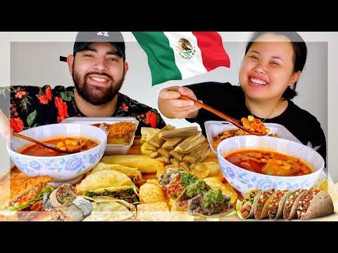 MEXICAN FOOD MUKBANG EATING SHOW