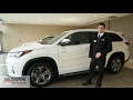 2017 Toyota Highlander Hybrid Walkaround - English   Arlington Toyota