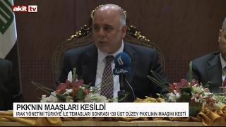 PKK'nın maaşları kesildi