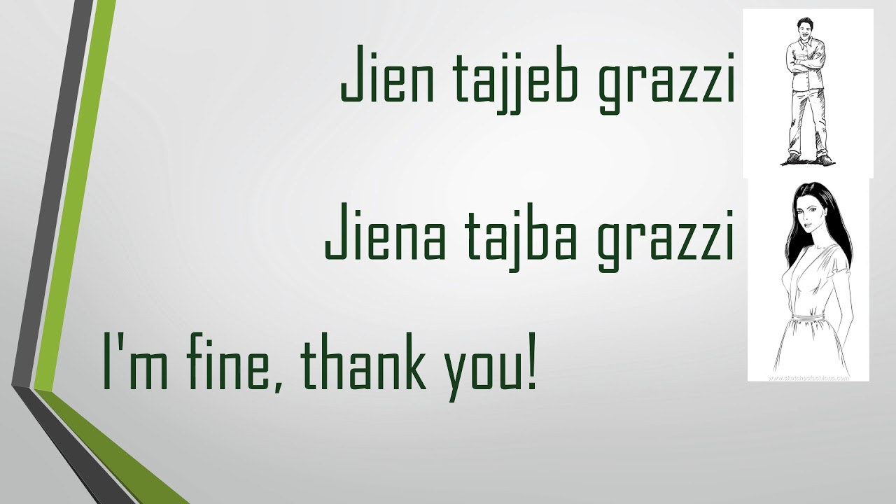 Learn Maltese Greetings In Maltese Youtube