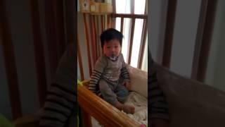 【一歲】0317♡叫名字會舉手「又」了!