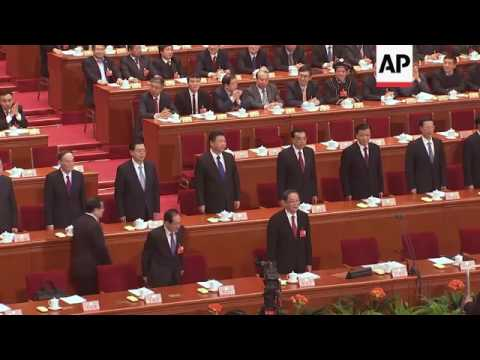 Xi at opening of China CPPCC's annual session