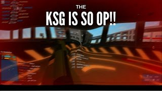ROBLOX PHANTOM FORCES KSG MONTAGE | THE MOST UNDERRATED YET OP SHOTGUN!!