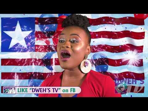 Liberia National Anthem -by: Genetta Kah -DWEH'S TV