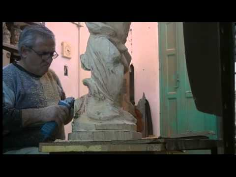 Thumbnail: st michael statue carving