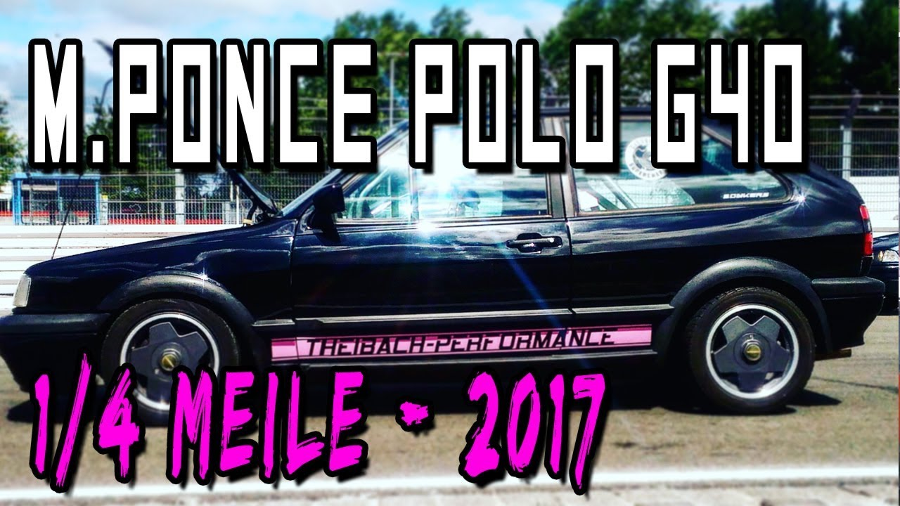 Manuel Ponce Polo G40 14 Meile Saison 2017 Theibach Performance