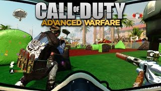 """""""PAINTBALL MODE"""" in Call of Duty: Advanced Warfare! (New Multiplayer Setting)"""