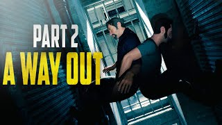 "A Way Out - Walkthrough Gameplay Part 2 ""ESCAPING OUR CELLS"""