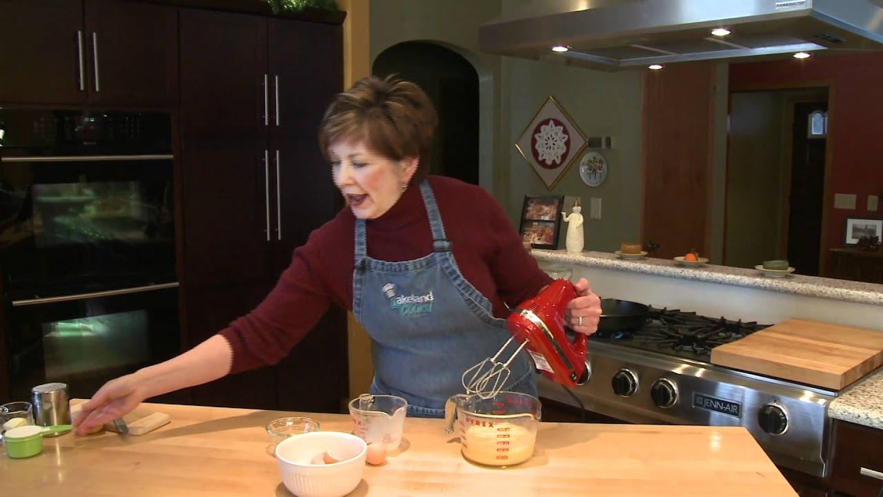 Dutch Baby Pancake - Lakeland Cooks! - YouTube