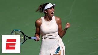2018 US Open highlights: Madison Keys rallies after losing first set, defeats Krunic | ESPN