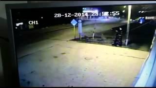Камера засняла случайное дтп январь 2015