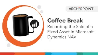 Dynamics NAV: Recording the Sale of a Fixed Asset