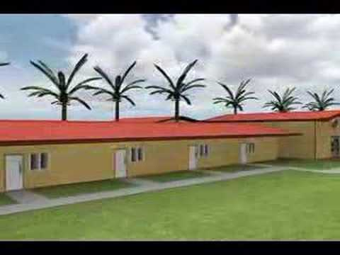 Steel building for offices or school designs