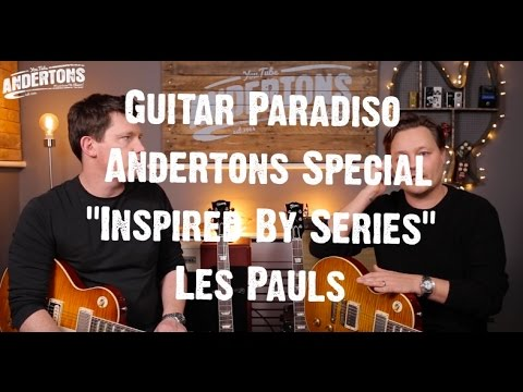 """Guitar Paradiso - Andertons Special Gibson Custom Shop """"Inspired By Series"""" Les Pauls"""