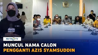 Muncul Nama Calon Pengganti Azis Syamsuddin