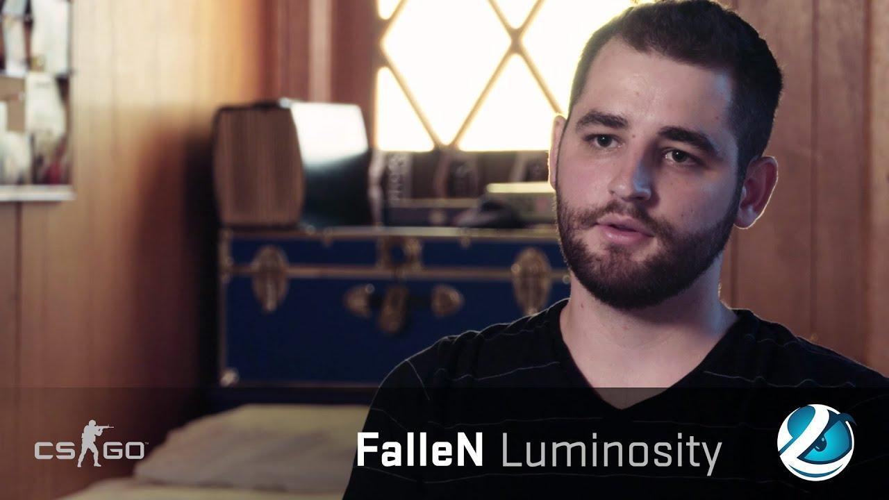 csgo player profiles fallen luminosity gaming youtube