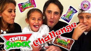 Center Shock Challenge - Wir testen Kaugummis - Kanal für Kinder thumbnail