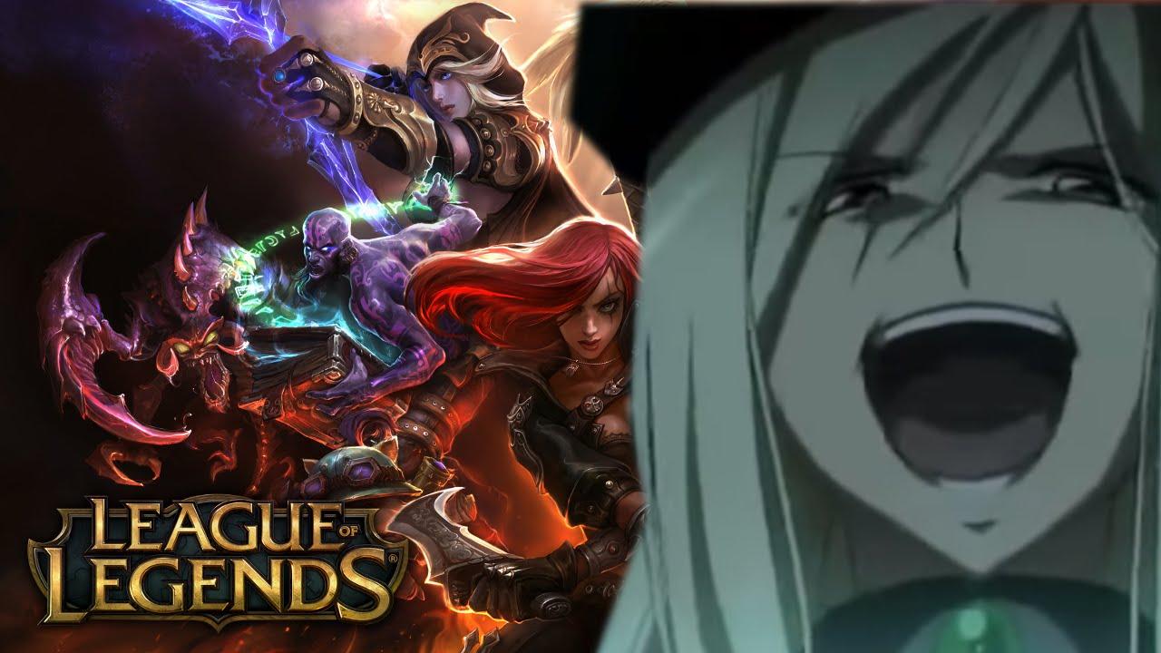 League of legends evil anime woman laugh youtube