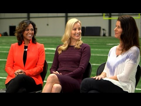 Super Bowl spouses on balancing family and football