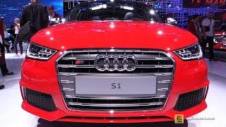 2017 Audi S1 - Exterior and Interior Walkaround - 2016 Paris Motor Show