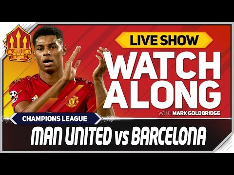 Manchester United Vs Barcelona LIVE Match Chat