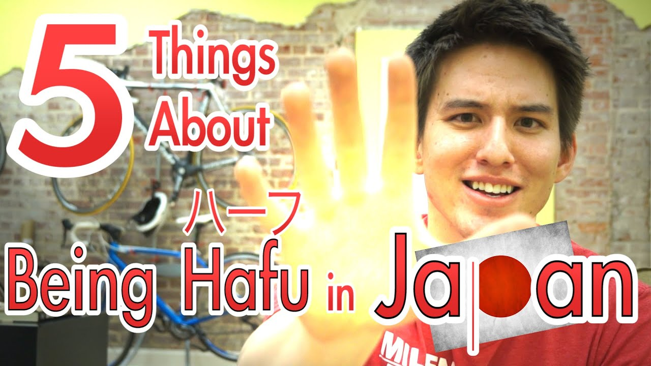 Being hafu in japan