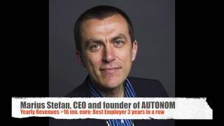 #CEOseries Marius Stefan, Autonom