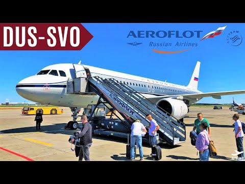 AEROFLOT [TripReport] DÜSSELDORF - MOSCOW SVO | SU 2437 | AIRBUS A320 RETRO LIVERY | HD 60fps