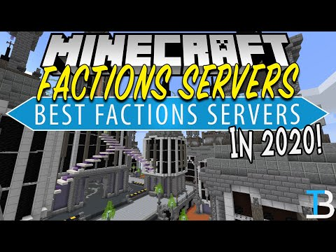 Top 5 Best Factions Servers In Minecraft Where To Play Factions Youtube